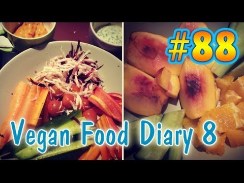 VLog #88: Vegan Food Diary 8 | Random Meals | Vegan kochen & backen