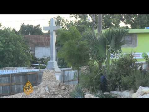 Bleak Christmas in Haiti post-quake