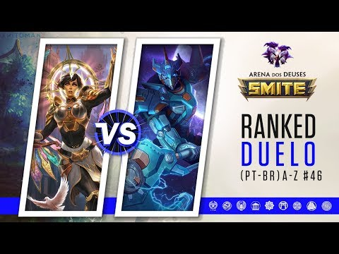 Deusa da Magia vs Chaac | Ranked Duelo A-Z #46 | Smite Season 5 (PT-BR)