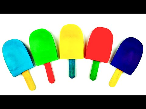Play-Doh Ice Cream Popsicle Surprise Eggs Mickey & Minnie Mouse Sesame Street Toy Story FluffyJet