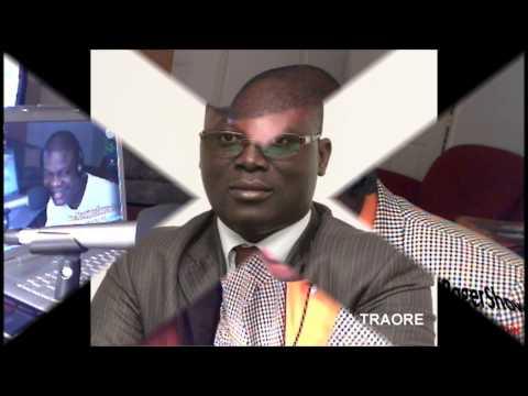 INRI RADIO JacquesRogerShow   COTE D'IVOIRE  Invite Me Drissa Traore 19 01 13