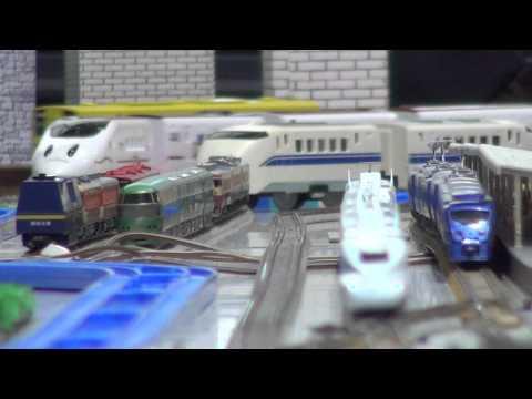 2012年12月1日 大分駅での鉄道模型運転会 前編