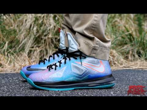 LeBron X (10): Pure Platinum's Review (+ On Foot Review)