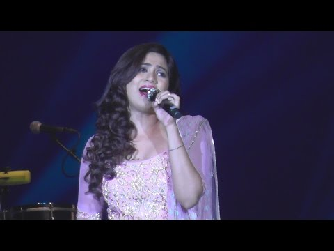 Shreya Ghoshal - Saans Mein Teri - Live