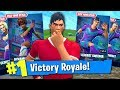 32 SKINS IN ONE PURCHASE ON FORTNITE! (Customizable World Cup Skins Gameplay)