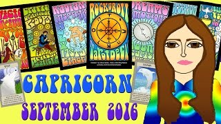 CAPRICORN SEPTEMBER  2016 Tarot psychic reading forecast predictions free