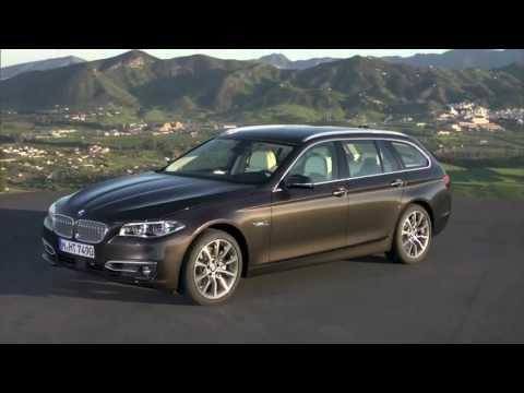 Новый BMW 5 Series Touring [530d] Restyling 2013  - Экстерьер
