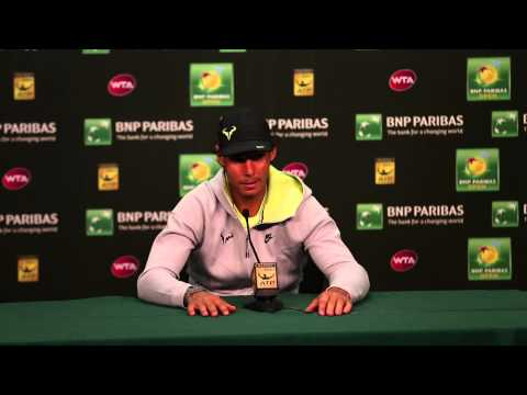 Rafael Nadal Quarterfinal Press Conference