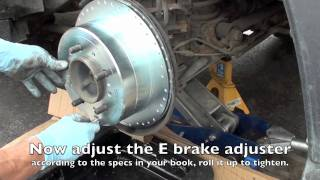 Land Cruiser Tutorials, Rear Brake Service LX470 and Land Cruiser 80/100/200 series.