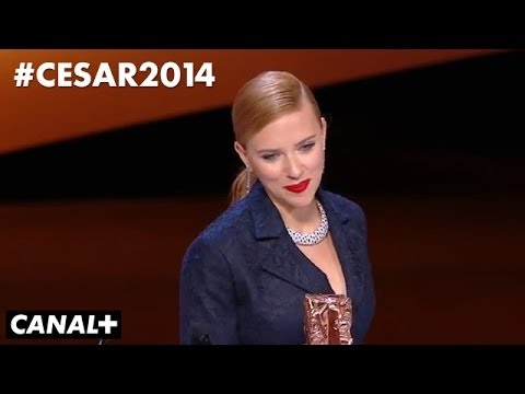 Scarlett Johansson - César d'honneur 2014