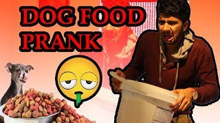 DOG FOOD IN CEREAL PRANK !!!