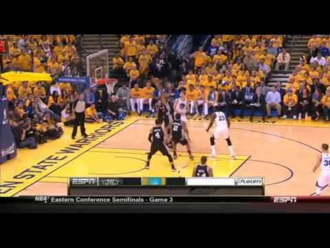 Tim Duncan 23 Points 10 Rebounds Full Highlights vs Warriors Playoffs R2G3 (5/10/2013)