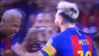Messi hattrick vs celtic