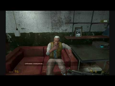 Half-Life 2: Episode Two - Alyx delivers G-Man