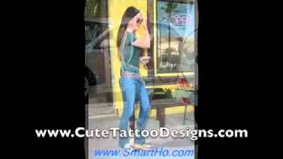 YouTube Megan Fox Tattoos Hot Megan Fox Pictures Showing Off Her Tattoos