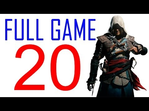 Assassin's creed 4 walkthrough - Part 20 Gameplay Let's play PS4 XBOX PS3 AC4 Black Flag No Commentary