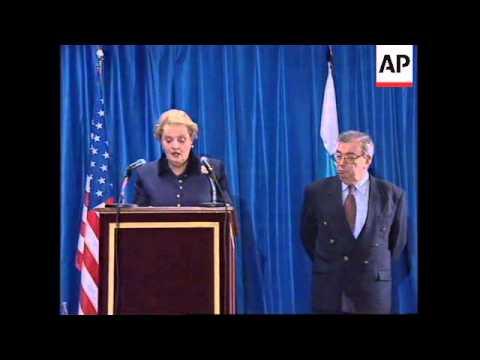 SPAIN: MADRID: US SECRETARY OF STATE ALBRIGHT VISIT