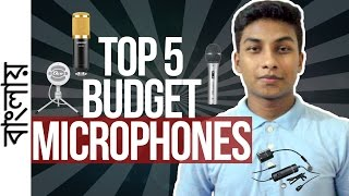 5 Budget Microphones for YouTubing/Singing