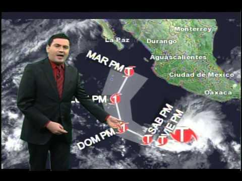 30-31 octubre 2014 Pronóstico del tiempo Monterrey y tormenta tropical Vance TVNL