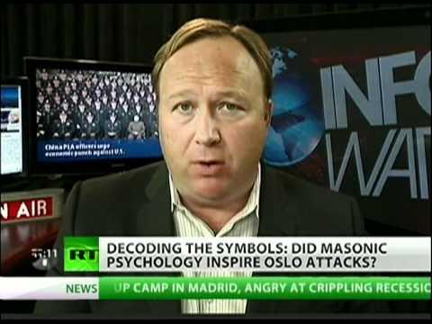 Alex Jones: 'Anders Behring Breivik was Masons' Patsy'