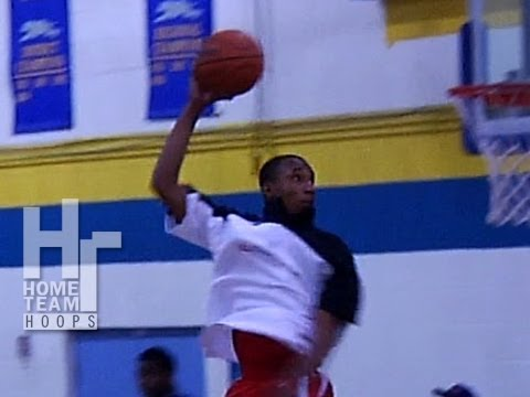6'0 Pookie Powell Throws Down Halfcourt Oop. Top Plays From The Showtime Ballers Annual Kickoff.