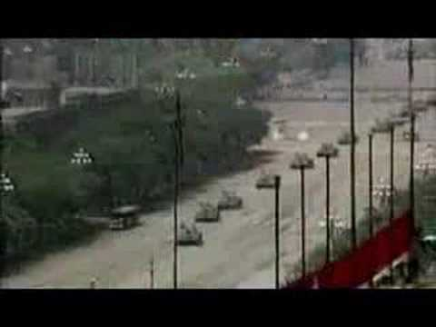 The Tank Man of Tiananmen Square