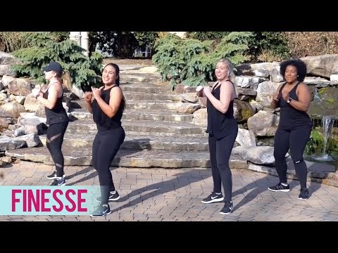 Bruno Mars - Finesse ft. Cardi B (Dance Fitness with Jessica)