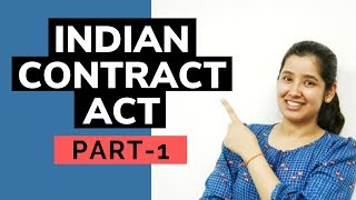 Indian Contract Act | Part 1
