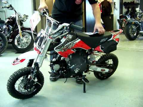 Kdf 70 F 2010 Motocross Pit Bike 70cc Mov Youtube