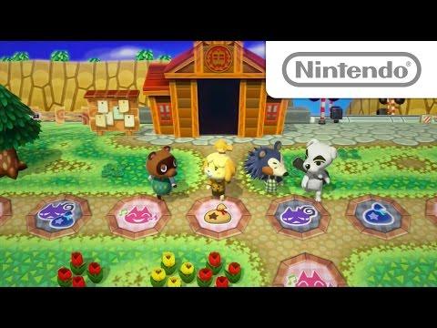 【WiiU】Wii U『どうぶつの森 amiiboフェスティバル』発売が決定&PVが公開