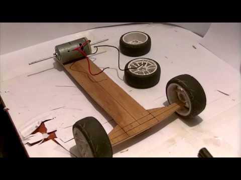 Как сделать машину своими руками на моторе 29