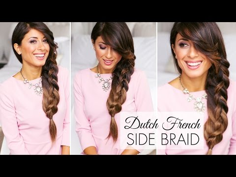 Dutch French Side Braid