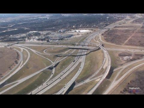 USA Anflug und Landung in Dallas Fort Worth International Airport