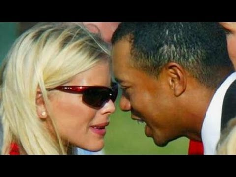 Tiger Woods car crash sex scandal wife Elin Nordegren