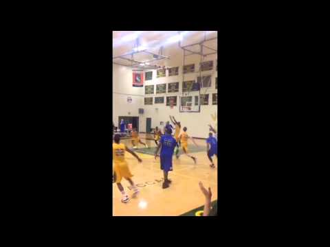 Dre Mathieu dunk for Central Arizona College