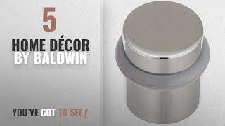 Top 10 Home Décor By Baldwin [ Winter 2018 ]: Baldwin 4505.260 Universal Floor Bumper Door Stop,