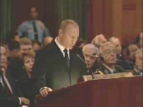 В.Путин.Выступление на заседании.02.11.05