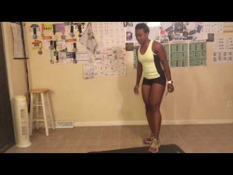 Day 7 Wall Sit, Tone It Up and Tammie Challenge