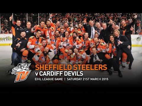 Sheffield Steelers V Cardiff Devils - Eihl - Saturday 21st March 2015  - Elite League Champions 2015 video