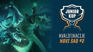 [LoL] Junior Kup - Kvalifikacije Dan 4 - Novi Sad /w Hakkinen i Sarezza