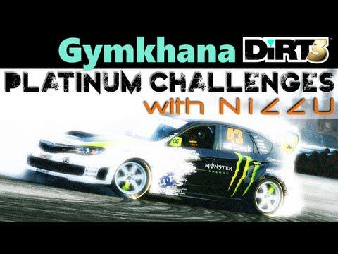 DiRT 3 Gymkahana Attack 2 (0:36.549) Platinum Medal