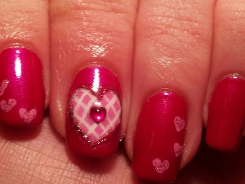 Valentine's Day Nail Art Tutorial