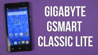 Распаковка Gigabyte GSmart Classic Lite