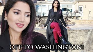 ROAD TRIP WITH HUSBANDS FAMILY | Washington Vlog