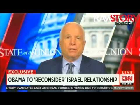 John McCain to Obama: Get over your Netanyahu 'temper tantrum'