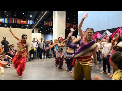 Dhadang dhang dang! -Bollywood workout at Raleigh International...