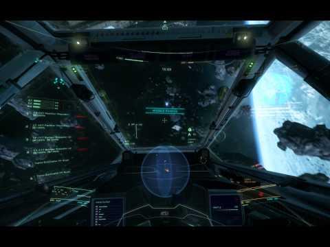 Star Citizen 1.0.1 PTU Battle Royale - Super Hornet