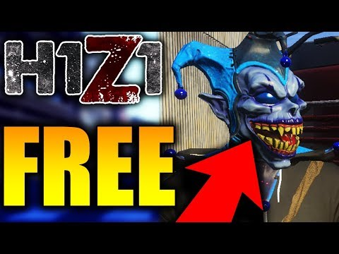Free Cosmic Jester Mask! How To Win A Free H1Z1 Cosmic Jester Mask (H1Z1 Skins)