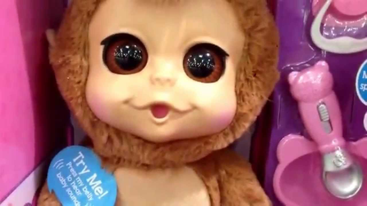 Animal Babies Nursery Quot Baby Chimp Quot Talking Eating Soft