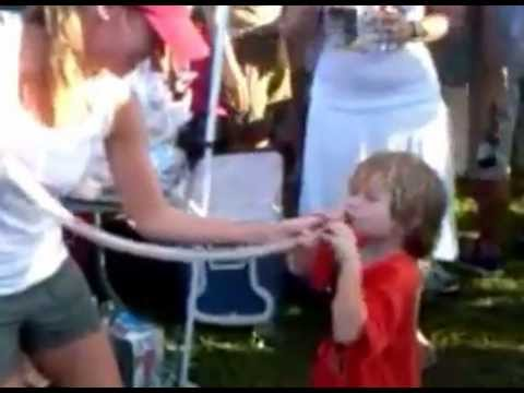 Mom Makes Kid A Capri Sun Bong